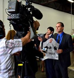 Peter Grande Interviewed by NBC News