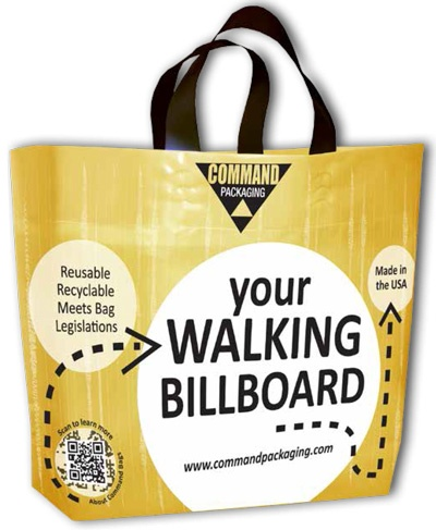 Walking Billboard Bag Image